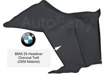 BMW Z4 2003-2008 Convertible Top Headliner Charcoal Twill