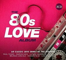 Various - 80s Love Album (2017)  3CD  NEW/SEALED  SPEEDYPOST
