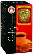 CafeJo Colombian Gold Soft Single Serve Coffee Pods 18 Count