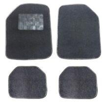 Velours Autoteppiche 4tlg.Satz Schwarz Fußmatten Hochwertig für Mercedes Benz VW