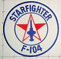 F-104 Starfighter Patch Lockheed USAF J79 Turbojet F-104S 104C Rolling Thunder