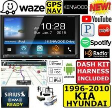 KENWOOD WAZE NAVIGATION WEBLINK  BLUETOOTH APPLE IPOD IPHONE ANDROID CAR STEREO