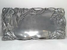 Vintage,1999 Arthur Court metal, aluminum tray with elephant