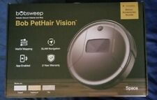 bObsweep PetHair Vision Wi-Fi Connected Robotic Vacuum Cleaner and Mop - Gray
