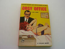 ORGY OFFICE  1964  BILL LAUREN  BUSTY LUSTY PATIENT  FINE-