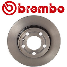 For Audi TT Quattro 2000-2006 Rear Disc Brake Rotor Solid Coated 239 mm Brembo