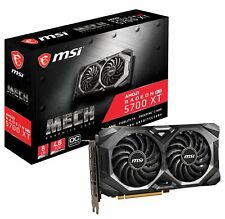 MSI Radeon RX 5700 XT MECH OC Graphics Card, PCI-E 4.0, 8G GDDR6, VR Ready