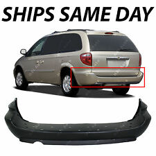 NEW Primered Rear Bumper Cover for 2005-2007 Chrysler Town Country Dodge Caravan