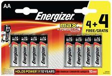 Energizer - E300142700 - Retail Packed Max 4+4 Value Pack Alkaline Aa Batteries