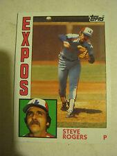 1984 Topps #80 Steve Rogers Baseball Card (GS23-20)
