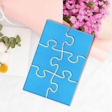 Geometric Puzzle Metal Cutting Dies Stencil Scrapbook Album Paper Card Embossing