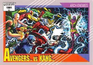AVENGERS VS. KANG / Marvel Universe Series 2 (Impel 1991) BASE Card #96