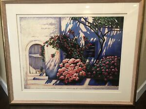 IGOR MEDVEDEV, ALL IN BLOOM III, SERIGRAPH ON WOVE PAPER SIGNED IN PENCIL