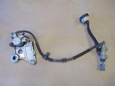 98-99 Honda CBR900RR Fireblade OEM rear brake assembly caliper master cylinder