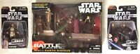 Star Wars 2006 Jedi Vs Darth Sidious w/ Obi-Wan & Anakin Mace Windu Kit Fisto