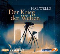 DER KRIEG DER WELTEN - WELLS,H.G.  6 CD NEU