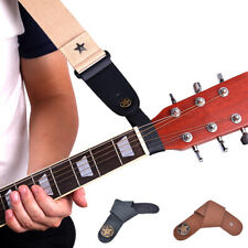 Acoustic Guitar Strap Button Holder - Leather Strap Hook for Acoustic Guitar;AU