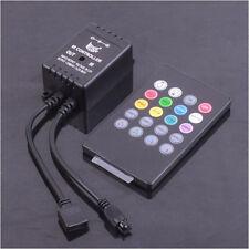 20 Key IR Sound Sensor Music Remote Controller for RGB 5050 3528 LED Strip Light
