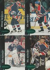 1992/93 Edmonton Oilers Parkhurst Emerald Ice Parallel Team Set Of 18 Cards