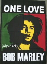 New Print Of One Love Bob Marley Popular Character Wall Hanging Tapestry Poster