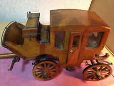 Vintage Antique Wooden Wells Fargo Stagecoach