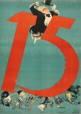 "Russian Propaganda Poster ""HAMMER AND SICKLE"" Soviet Union Communist Print"