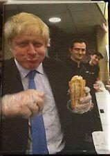 Boris Johnson Bread Roll fridge magnet   (se)   REDUCED TO CLEAR