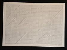 Erwin Heerich, Isometrien, Blatt 5, Zinkographie, 1960-1965, handsigniert