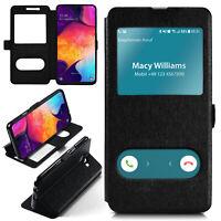 Booklet für Samsung Galaxy A50 Schutz Hülle Handy Tasche 360 Grad Book Case Etui