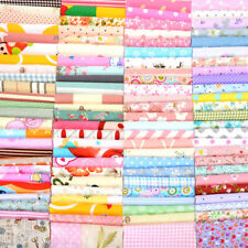 Series 100pcs Cotton Fabric Bundle Patchwork Quilting Sewing Crafts DIY 12x10cm