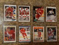 (8) Sergei Fedorov 1990-91 OPC Premier Upper Score Rookie Card lot RC HOF Y Guns