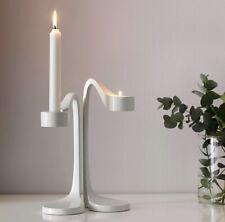 IKEA Jatteviktig White Modernist Candle Holders For Votive Or Candlesticks