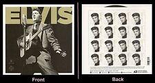 US 5009 Music Icons Elvis Presley forever stamp sheet MNH 2015