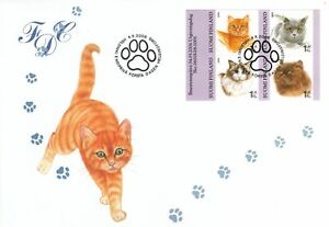 Persian British Shorthair Domestic Ragdoll Cats Kitten Booklet Finland FDC 2006