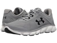 Under Armour Men's Micro G Assert 7 Running Shoes Steel/White US Sizes