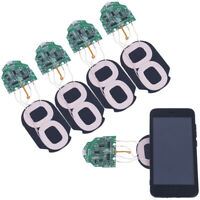 1pc 10w Qi Fast Charging Wireless Charger Pcba Circuit Board With Dual 2 Coils