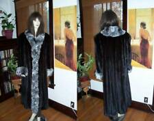 NEW PLUS SIZE Natural Ranch Mink Chinchilla Fur Coat