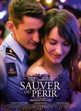 SAUVER OU PERIR Affiche Cinéma Originale Pliée Movie Poster Pierre Niney POMPIER