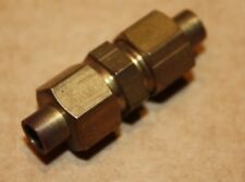 """Solder Olive 3/16"""" Equal Copper Pipe Union Hex Bodied."""