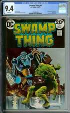 SWAMP THING #6 CGC 9.4 WHITE PAGES // BERNIE WRIGHTSON COVER ART 1973
