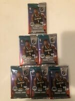 6 2019-20 Panini Mosaic NBA 6 Card Pack Prizm Zion Luka Ja Lebron Herro Genesis