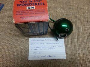 """Vintage Shakespeare #1770 """" Wonderreel"""" Fishing Reel in Original Box"""