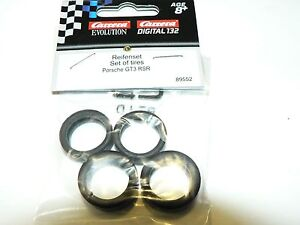 Carrera Digital + Evolution Tyres For Porsche GT3 Rsr 30409 30410 30461 89552