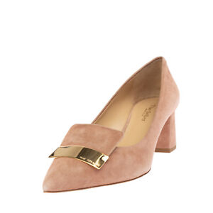 RRP €150 THE SELLER Suede Leather Court Shoes EU 38 UK 5 US 8 Made in Italy