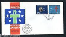 Ned. Antillen FDC E24_ 1M, blanco ; Curacao ;