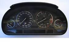 D BMW E38 E39 X5 Chrom Tachoringe Edelstahl poliert