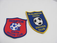 Burlington & Brampton Youth Soccer Club Patches Embroidered