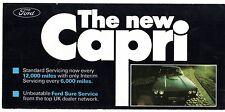FORD Capri Mk3 basso costo manutenzione dispone di 1978 UK Mercato PIEGA Opuscolo