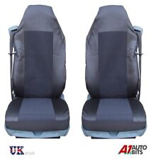 VOLVO FL FE FM 16 FH16 12 FH12 QUALITY BLACK TAILORED SEAT COVERS NEW