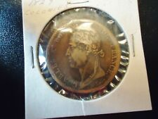 FRANCE 1827 10 CENT. COIN COLONIES GENERAL CHARLES X ROI DE FRANCE.31mm DIAMETER